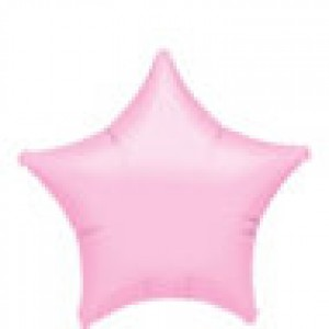  FOIL PINK STAR BALLOON